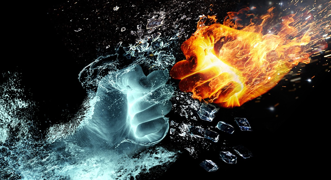 fire-and-ice-hands-collision