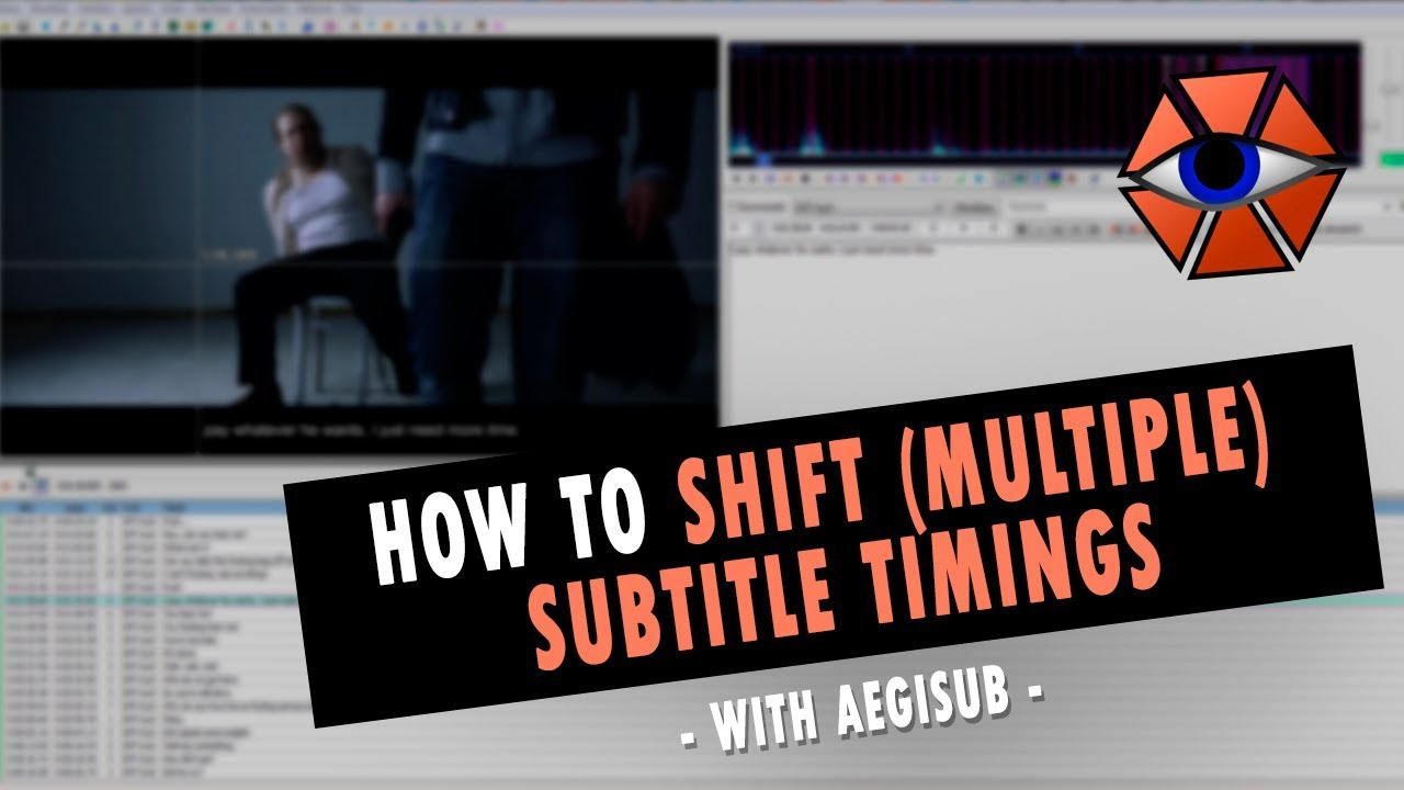 How to make Transparent Box behind Subtitles with Aegisub