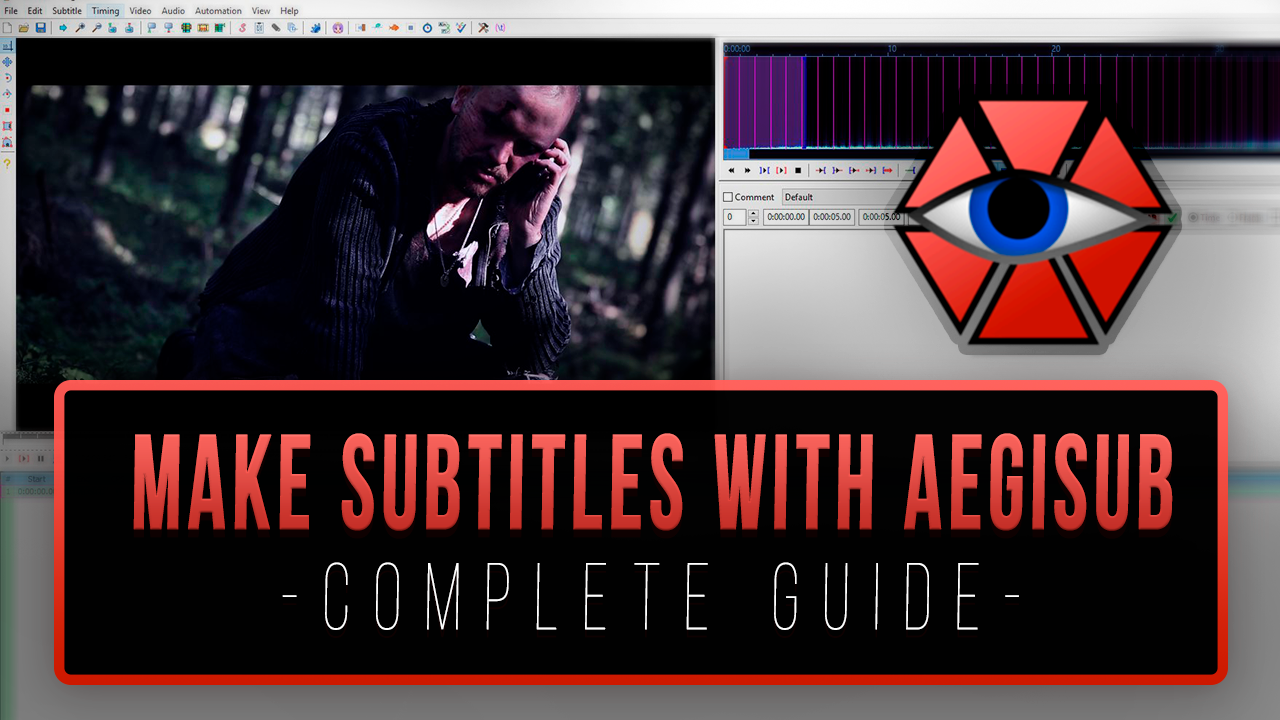 How to make subtitles with Aegisub COMPLETE GUIDE