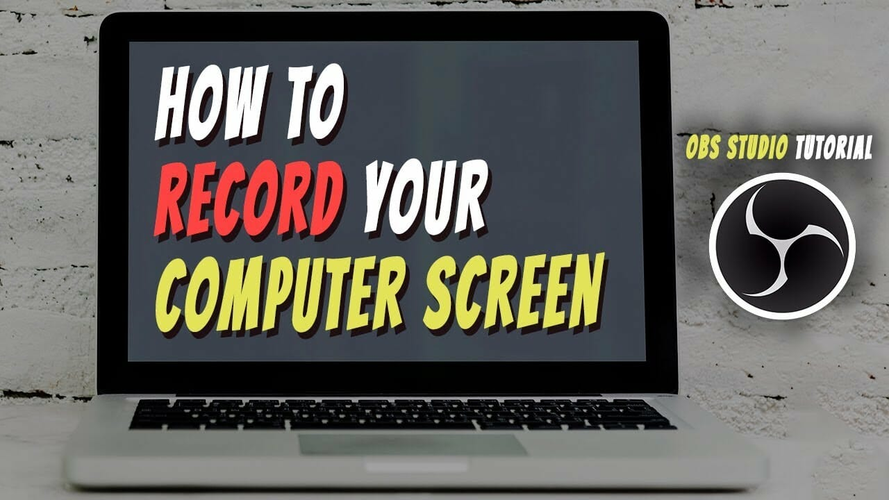 How To Record Your Computer Screen | OBS Studio Tutorial